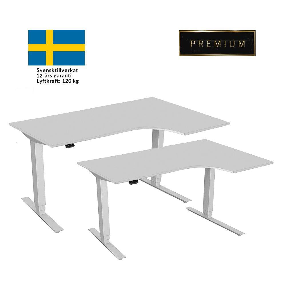 hoj-och-sankbart-svangt-skrivbord-premium-vitt-stativ-vit-bordsskiva-hogervanster-2-storlekar