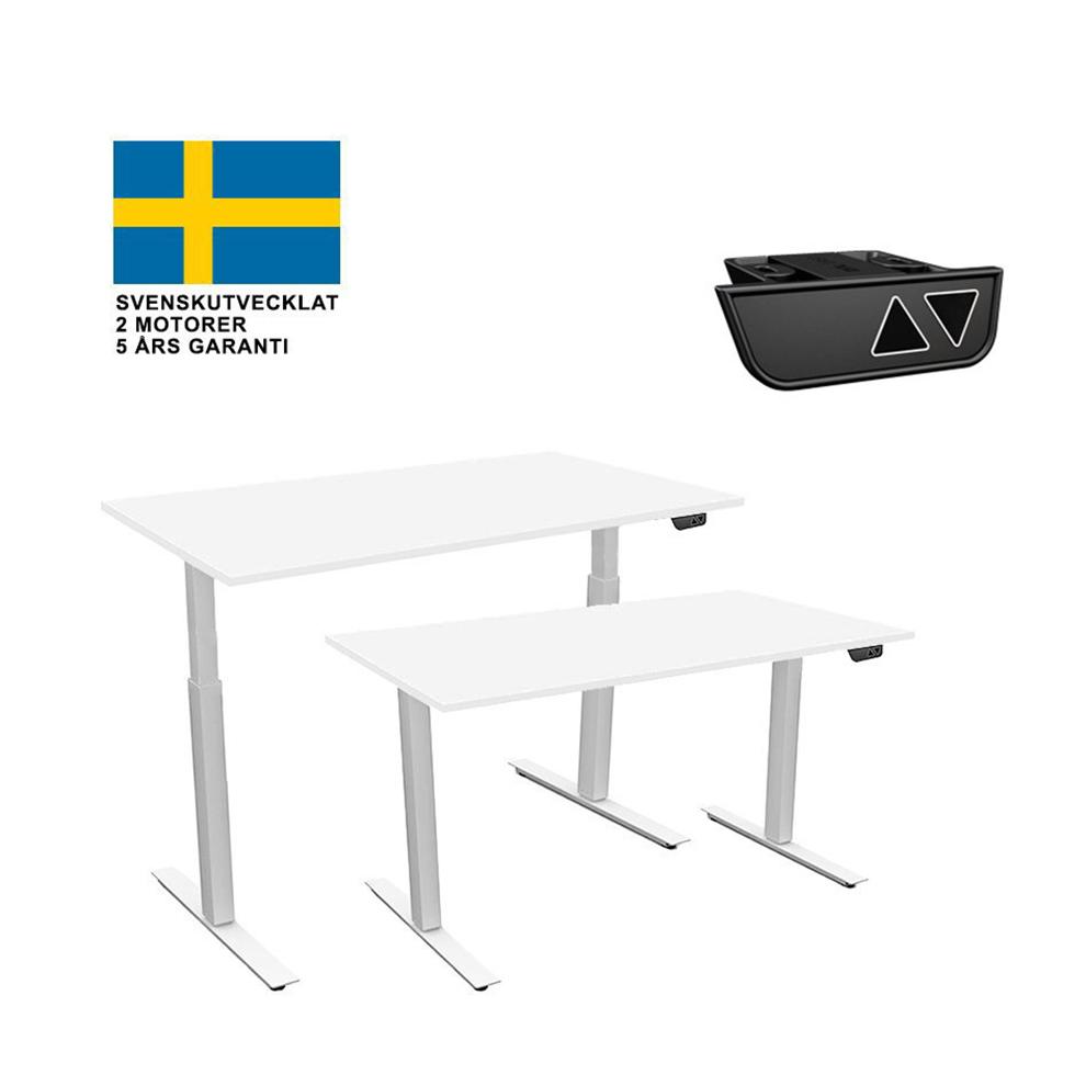 hoj-sankbart-skrivbord-2-motorer-vitt-bordsstativ-vit-skiva-9-storlekar